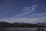 Federwolken mit Niederschlagsschleppen
