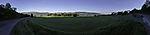agricultural panorama in Tromso
