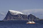 fishing boat before island Haaja
