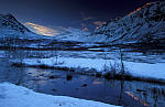 Mond über Nakkedal