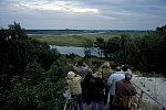 Vogelbeobachter auf Hoher Düne bei Prerow