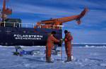 ice research near Polarstern