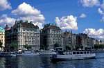 Prachtstraße Strandvägen Stockholm