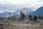volcanoe Unzen after eruption 1991