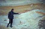 Sandablagerungen der Eiszeit