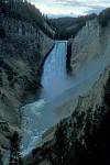 Wasserfall im Yellowstone Nationalpark