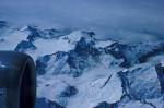 Schneeberge in Alaska