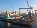 Werft HDW in Kiel