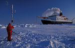 meteorologische Forschung in Arktis