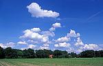 Sommerwolken im Emsland