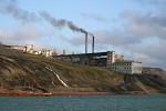 coal power plant in Barentsburg