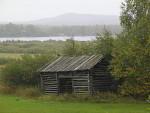 Feldscheune in Lappland