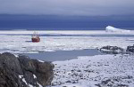 Eisbrecher Polar Queen vor Oates Küste