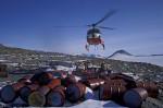 Aufräumarbeiten in Antarktis
