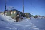 verlassene russische Forschungsstation Leningradskaja