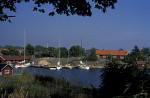 Insel Möja Bootshafen
