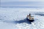 research icebreaker Polarstern in pack ice