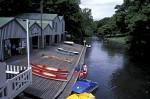 Christchurch Bootsverleih am Fluß Avon