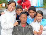 Inuit children in Qaqortoq