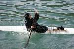 Inuit rolls in Kayak