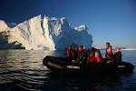 Disko Bay icebergs Zodiak