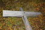 Grabkreuz von Gustav Wiik