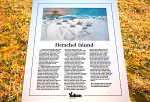 Herschel Island Infotafel