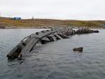 Maud Amundsens Schiff in Cambridge Bay