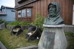 Amundsen Büste in Nome