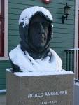 Amundsen bust in Tromsø