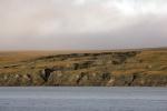 Permafrost taut bei Herschel Island