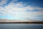 arktische Küste taut