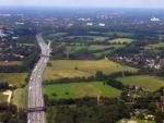 Autobahn bei Hamburg