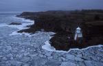Eisschollen vor Helsinki