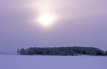 Winter am Kitinenfluß