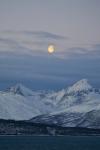 Mond über Store Blåmannen