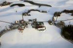 Bauernhof im Schnee