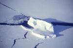 eingefrorener Tafeleisberg