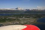 Tromsø aus der Luft