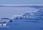 Schelfeis in Antarktis