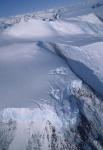 Gletscherabbruch im Transantarktischen Gebirge