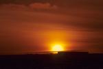 Abend in Antarktis