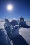 Polarstern in pack ice