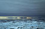Treibeis vor Nordwestspitzbergen