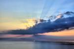 sunset in great Belt