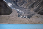 Gletscher im Søndre Strømfjord
