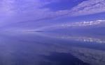 cloud reflection in northwest passage