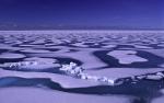 arctic summer ice