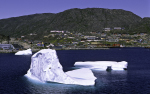 icebergs befor Julianehåb
