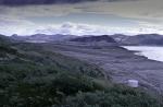 Flugplatz Kangerlussuaq auf Grönland